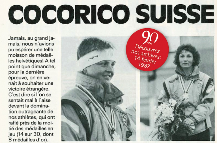 Archives 90 ans: Cocorico suisse